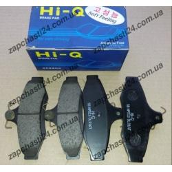 Колодки тормозные Нубира задние Hi-Q под диски