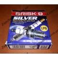 Свечи на двигатели 1.6л (16клап) с ГБО Brisk Silver DR17YS