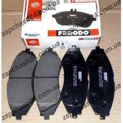 Колодки передние Ferodo Ланос 1.6 и Нексия R14 с АБС